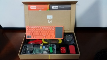 The Kano Computer Kit at Waxhaw Kid Coders
